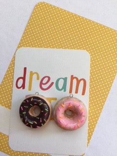 Large Sprinkles Doughnut Charm - MIMO Pencil Case Shop  - 1