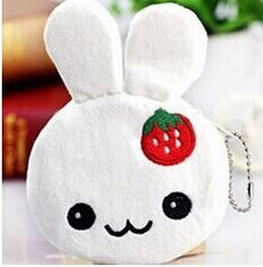 Kawaii Bunny Plush Coin Purse - MIMO Pencil Case Shop