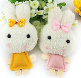 Kawaii Rice Rabbit Plush Backpack Buddy/ Phone Accessory - MIMO Pencil Case Shop  - 1