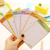 Post-it Schedule Planner Paper - MIMO Pencil Case Shop  - 1