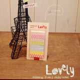 Kawaii Lovely Post-it Collection - MIMO Pencil Case Shop - 2
