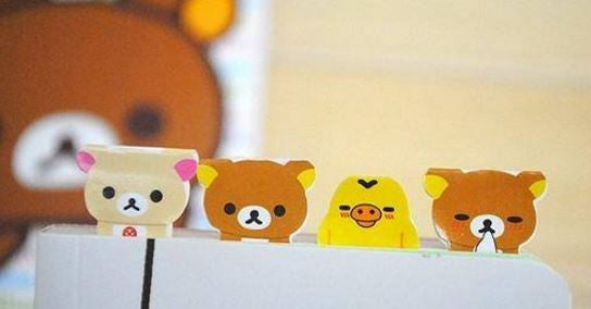 Rilakkuma Index Tabs/ Planner Labels/ Stickers - MIMO Pencil Case Shop  - 1
