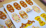 Rilakkuma Index Tabs/ Planner Labels/ Stickers - MIMO Pencil Case Shop  - 2