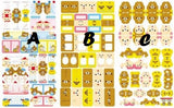 Rilakkuma Index Tabs/ Planner Labels/ Stickers - MIMO Pencil Case Shop  - 5