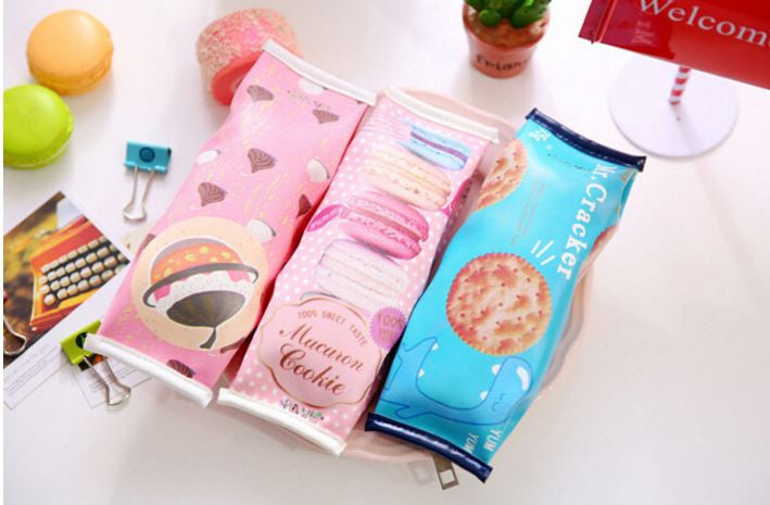 Sweetie Snacks Pencil Pouch - MIMO Pencil Case Shop  - 1