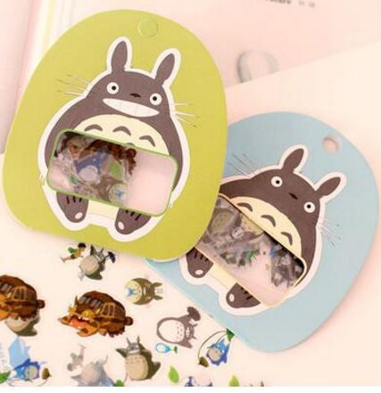 Transparent Totoro Stickers