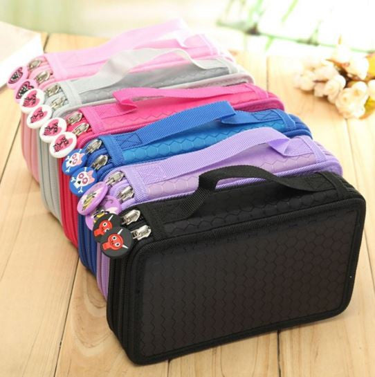 2 Layer 36 Hole Pencil Storage Case - MIMO Pencil Case Shop  - 1
