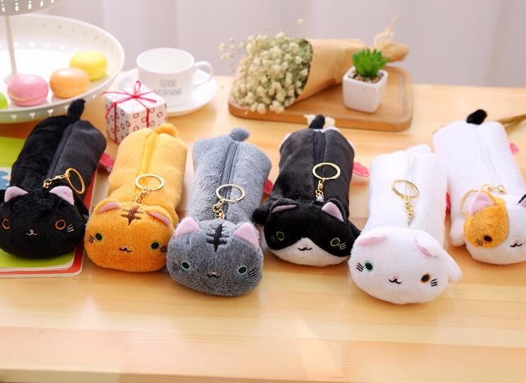 Neko Dango Plush Kitty Pouch