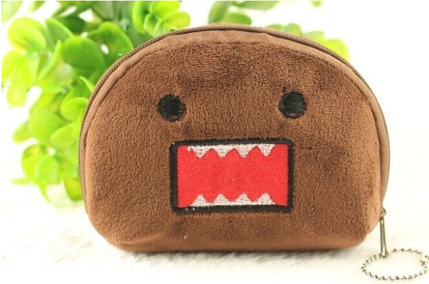 Domo Plush Coin Purse