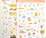 Happy Birthday Planner Stickers - MIMO Pencil Case Shop  - 1