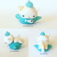 Kitty Teapot Charm