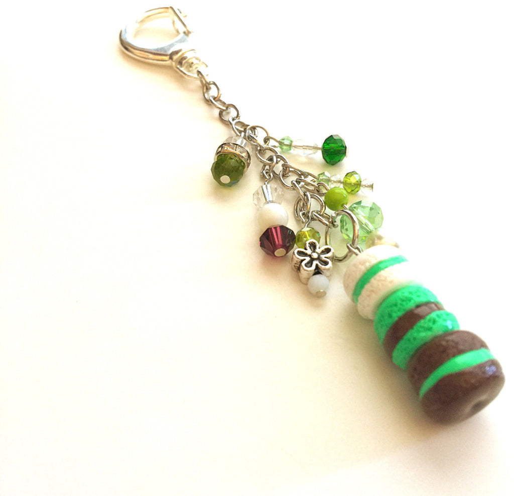 Chocolate Mint Ombré Planner Charm