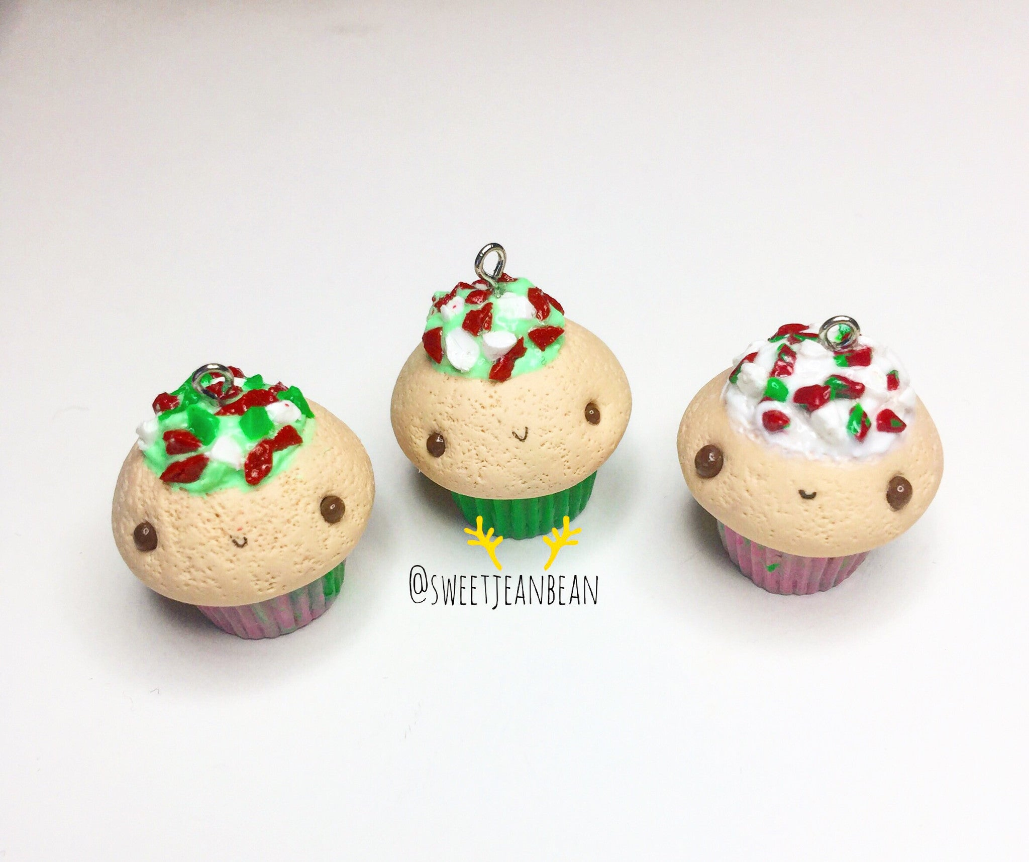 Peppermint Crunch Cupcake Charms - MIMO Pencil Case Shop  - 1