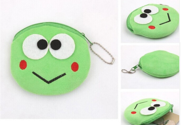 Keroppi Frog Plush Coin Purse