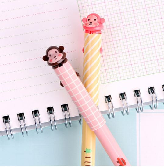 Monkey Fine Tip Gel Pen - MIMO Pencil Case Shop  - 1