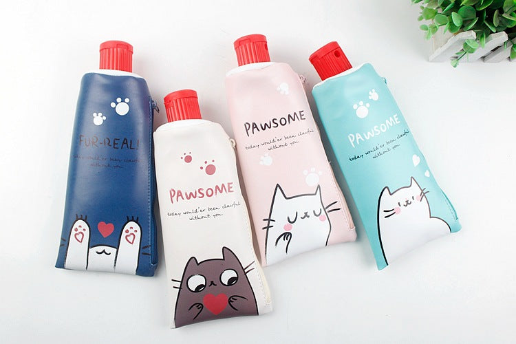Pawsome Tube Pencil Case