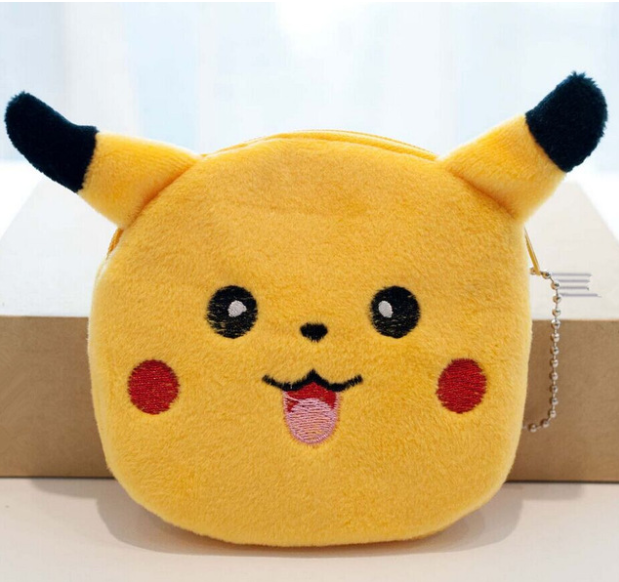 Pikachu Plush Coin Purse
