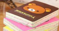Rilakkuma Colorful Thick Pocket Diary - MIMO Pencil Case Shop  - 1