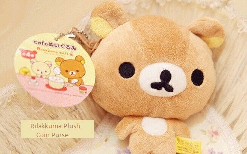 Rilakkuma Plush Coin Purse