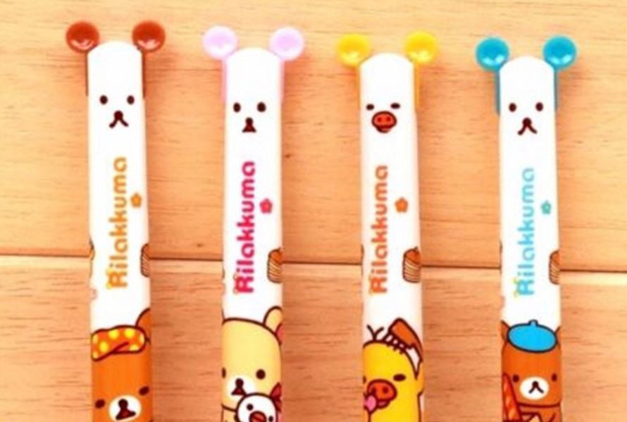Rilakkuma Retractable Ballpoint Pen - MIMO Pencil Case Shop  - 1