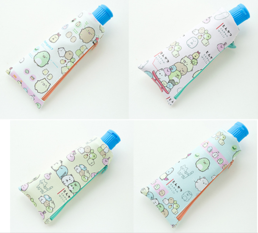 Sumikko Gurashi Tube Case w/Sharpener