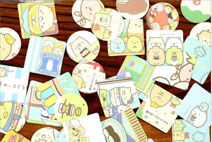 46 Piece Sumikko Gurashi Stickers