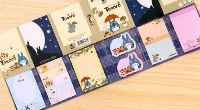 Totoro Mega Book: Sticky Note Pad