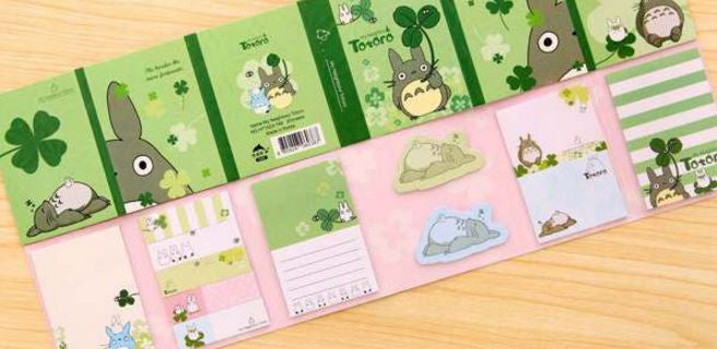 Totoro Mega Book: Sticky Note Pad - MIMO Pencil Case Shop  - 4