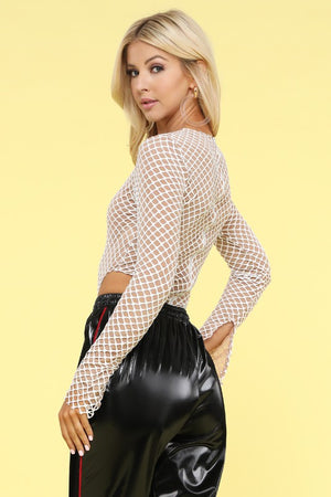 Netted Bodysuit