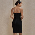 Pearl Strap Bandage Dress