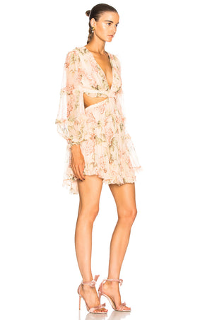 Prima Floating Floral Dress