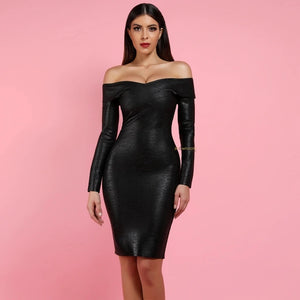 Aziza Bandage Dress