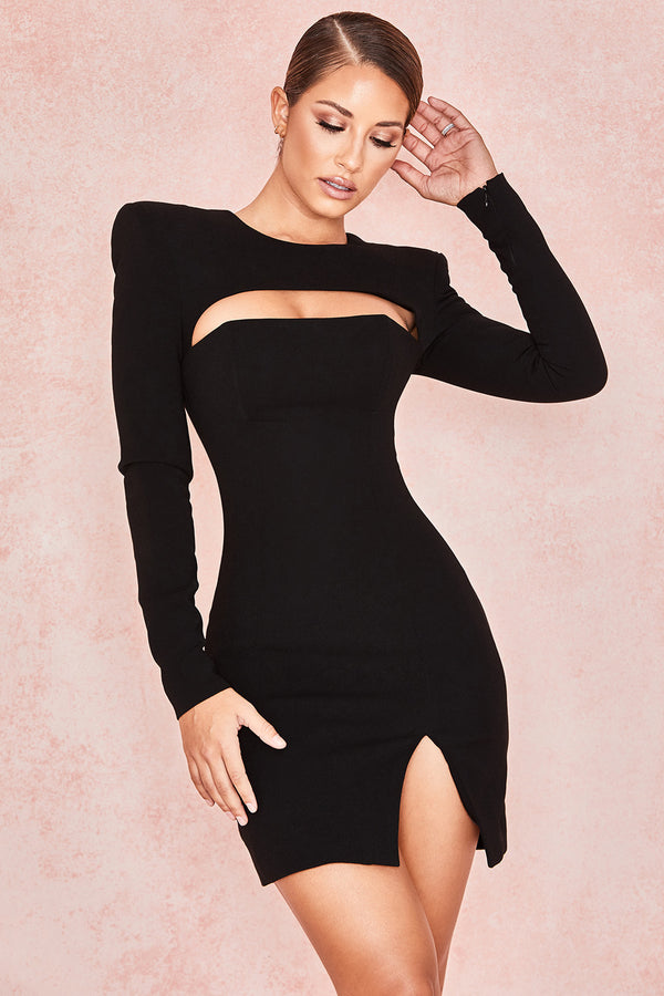 Briana Crepe Mini Dress