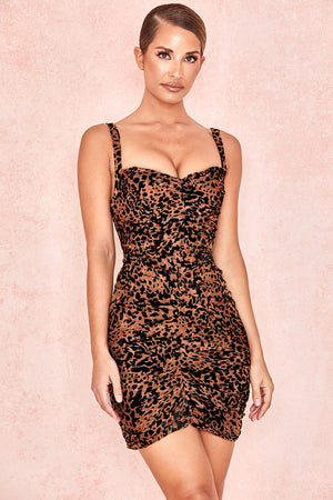 Cleo Corset Mesh Dress