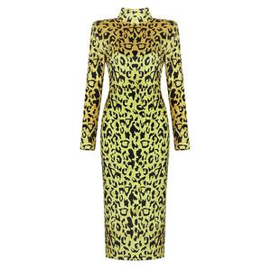Cici Animal Print Dress