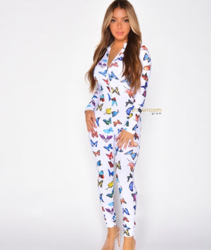 Butterfly Jumpsuit