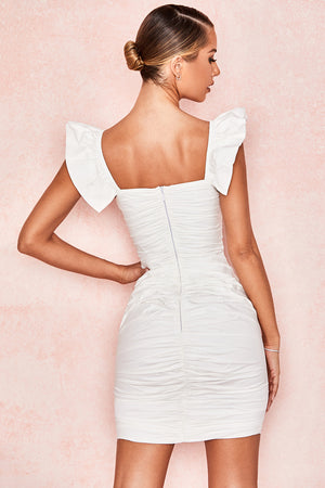 Kara Cotton Ruffle Dress