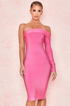 Nadine One Shoulder Bandage Dress