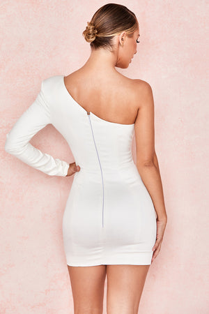 Tiffany White Mini Dress