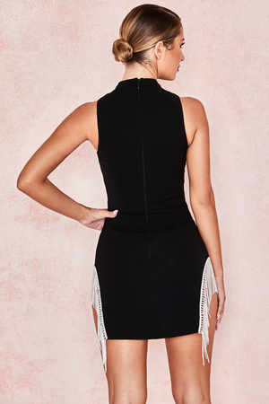 Charlize Crystal Trim Dress