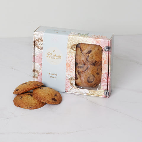 Festive Gift Box - Chocolate Chip Biscuit