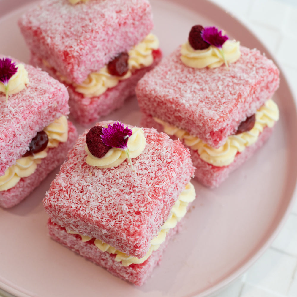 Lamington - Raspberry x 6