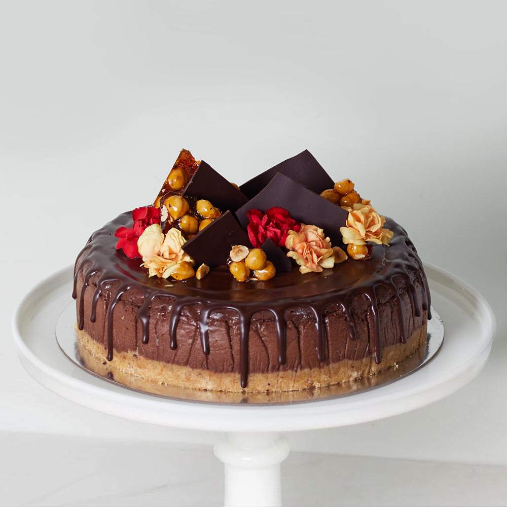 Chocolate Hazelnut Cheesecake (GF)