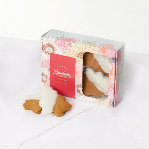 Festive Gift Box - Gingerbread Xmas Trees