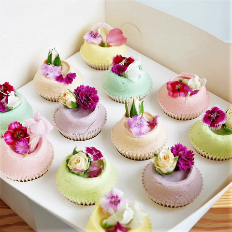 Mothers Day Vanilla Cupcake Gift Pack