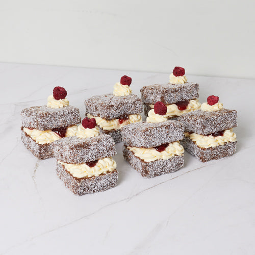 Lamington - Chocolate x 6