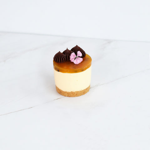 Individual Cheesecake x 12 - Passionfruit (egg free)