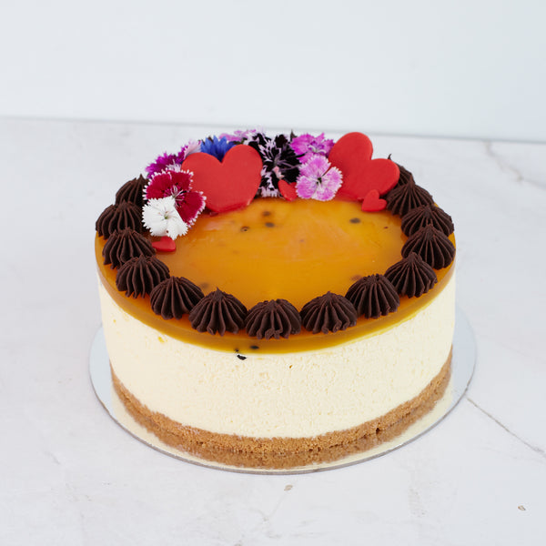 Valentines Cheesecake - Passionfruit