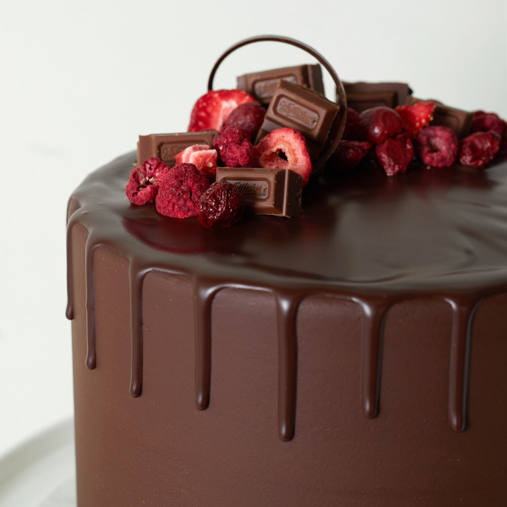 Whittakers Berry Forest Chocolate Cake