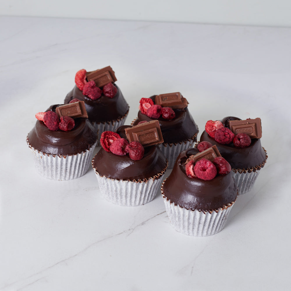 Whittakers Berry Forest Cupcakes - 6 Pack